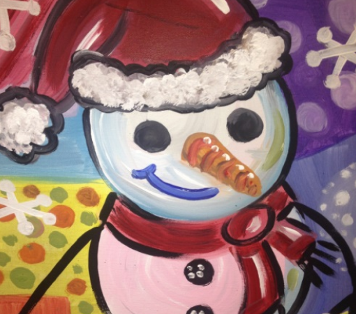 Snowman Painting Party