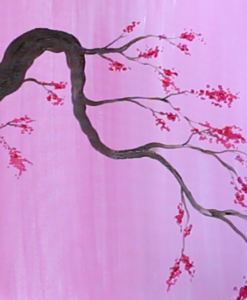 Cherry Blossom Painting Party
