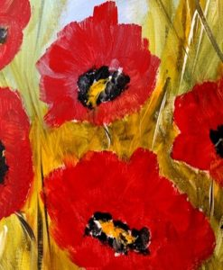 Poppies Party Featured