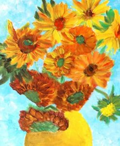 Van Gogh's Sunflowers Featured