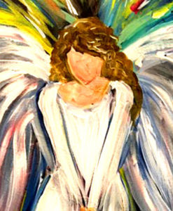 Free Faceless Angel Painting