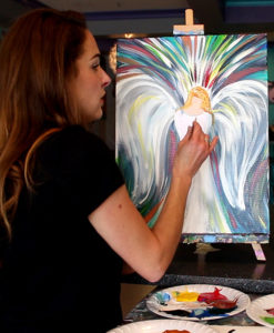 Angel Wings Painting Party